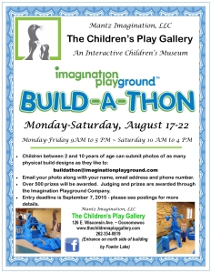 Imagination Playground Aug 2015