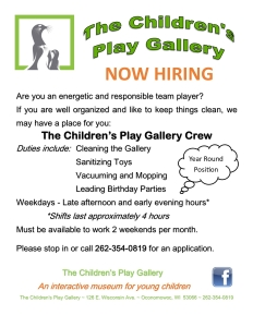 Job Opportunities June 2015