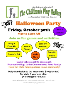 Halloween Party Info 2015 picture