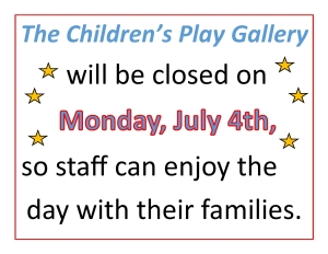Closed July 4th 2016