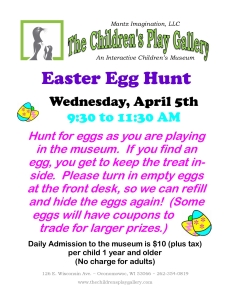 Easter Egg Hunt 2017